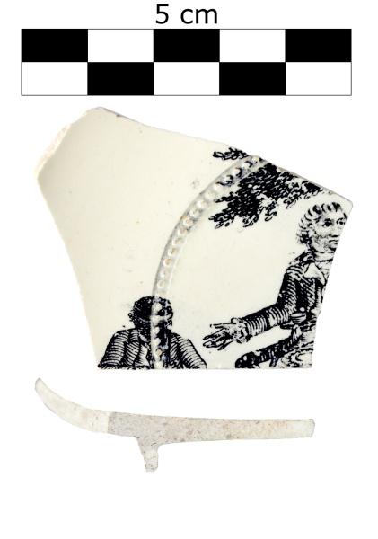 3. Spodek, Yorkshire(?), k. XVIII w. Z badań archeologicznych w Stargardzie (fot. M. Szeremeta)